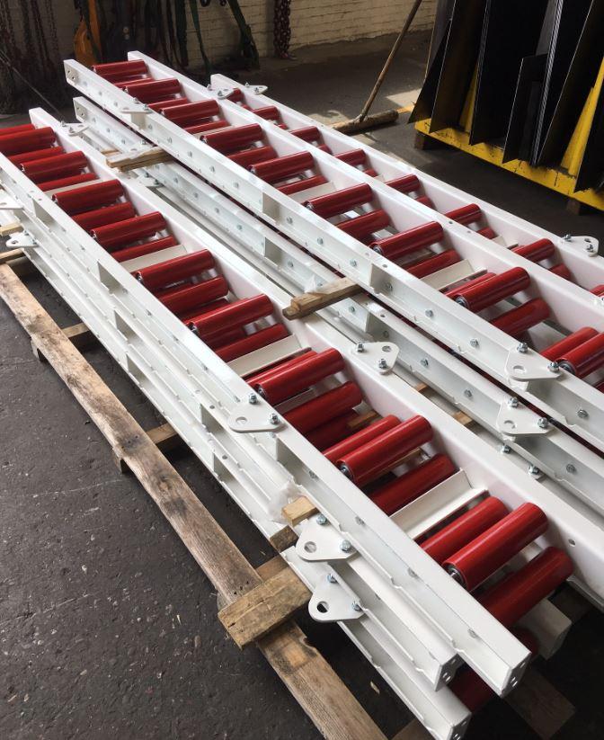 60 meter rollerbanen uitgeleverd